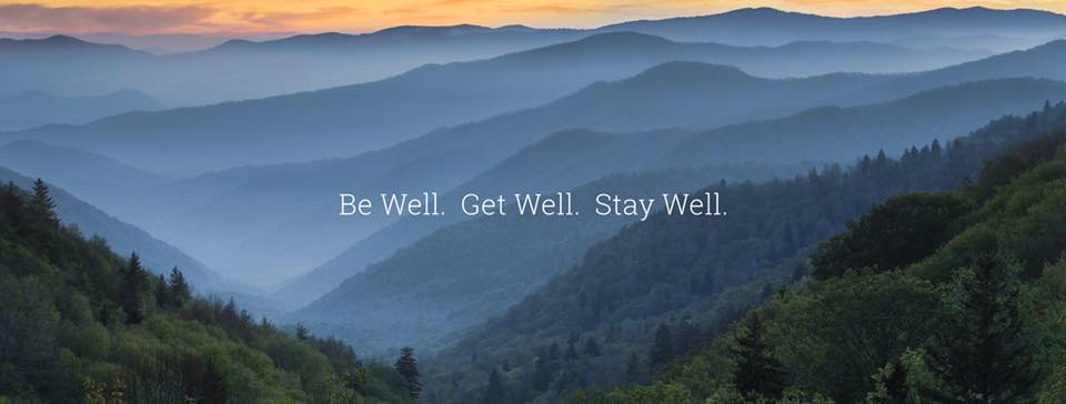 Blue RIdge be well get well stay well